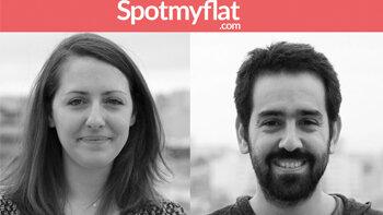 """""""Notre plateforme permet aux pros de partager leurs informations informelles"""", Spotmyflat - D.R."""