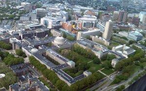 Vue aérienne du campus du MIT