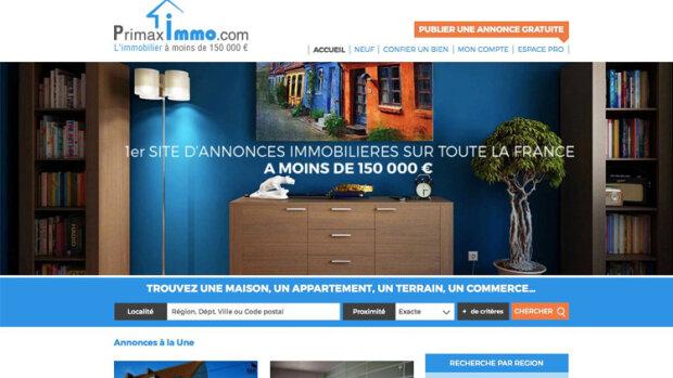 Primaximmo: le nouveau portail qui mise sur les biens à moins de 150 000 euros - © D.R.