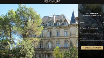 Propriétés de France élargit son positionnement - © D.R.