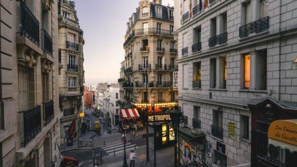 Quartier Montmartre, à Paris