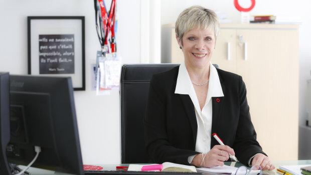 Christine Fumagalli, présidente du réseau Orpi - © Karine S.Bouvatier
