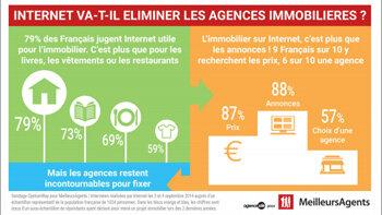 Internet peut-il remplacer les agences immobilières? - © D.R.