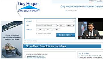 Guy Hoquet continue à recruter massivement en CDI - © D.R.