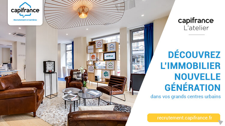 L'offre d'emploi de la semaine : Conseiller immobilier d'un Atelier Capifrance à Montpellier -