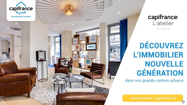 L'offre d'emploi de la semaine : Conseiller immobilier d'un Atelier Capifrance à Paris -