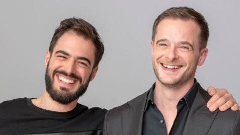 Sylvain Kalache et Julien Barbier, cofondateurs d'Holberton - © D.R.