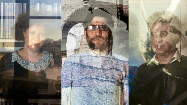 Grâce à un jeu de miroirs, des images sont projetées dans les portraits. - © Pierre-Jérôme Adjedj / Restrica