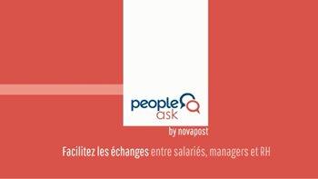 """""""Le taux d'adoption de PeopleAsk a dépassé nos espérances"""", J.L Clamens, Natixis - D.R."""
