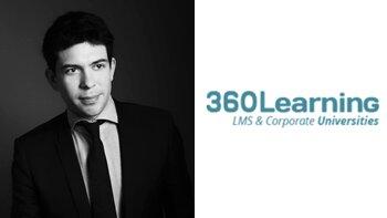 """""""Notre chiffre d'affaires a augmenté de 270 % par an depuis 2 ans"""", N. Hernandez, 360Learning - D.R."""