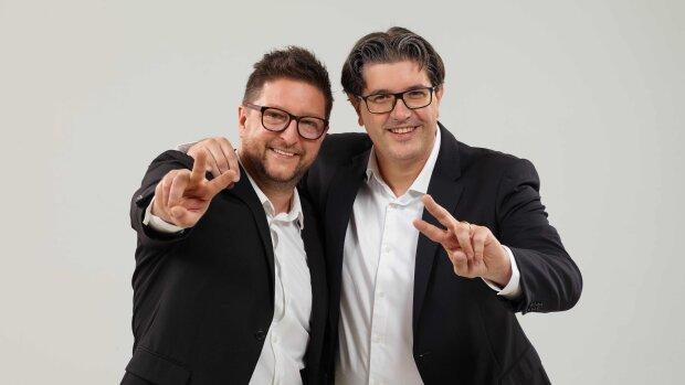 Frédéric Ibanez et Nicolas Fratini ont lancé Les Agences de Papa en juillet 2019 - © D.R.
