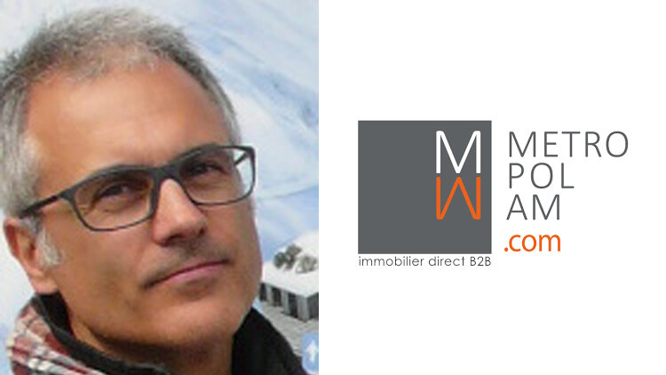 """""""Metropolam est une place de marché dédiée à l'immobilier BtoB"""", Marc Mascarell, Metropolam - D.R."""