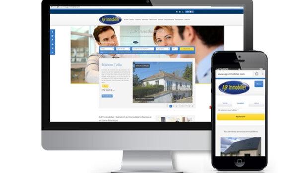 Les 5 tendances du webdesign immobilier en France - © D.R.