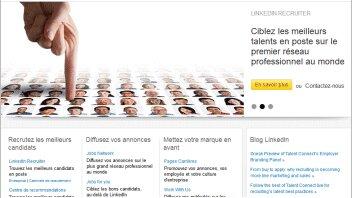LinkedIn Recruiter se met au français - D.R.