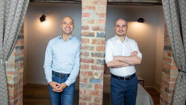 Gaëtan Mathey et Benoît Mazzetti, cofondateurs de Bernie. - © D.R.