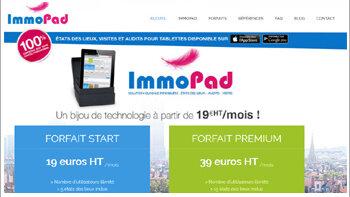 ImmoPad prépare une nouvelle version de son logiciel d'état des lieux - © D.R.