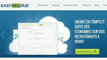 La start-up easyRECrue lève 500 000 euros - D.R.