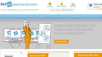 RHondemand.com: votre centre d'expertise et ressources SIRH en ligne - D.R.