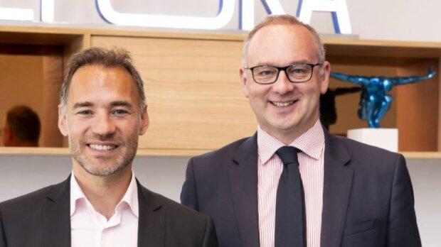 Mathieu Gabai et Manuel Lagny, co-dirigeants d'Epoka, justifient l'alliance signée avec Twinin. - © CEDRIC HELSLY