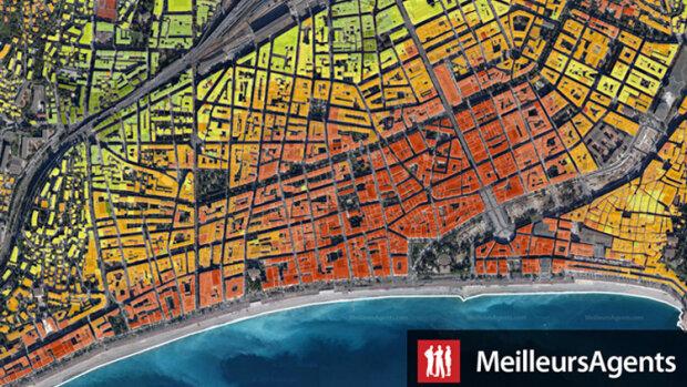MeilleursAgents déploie sa carte des prix adresse par adresse à Lyon, Nice, Lille et Marseille - © D.R.