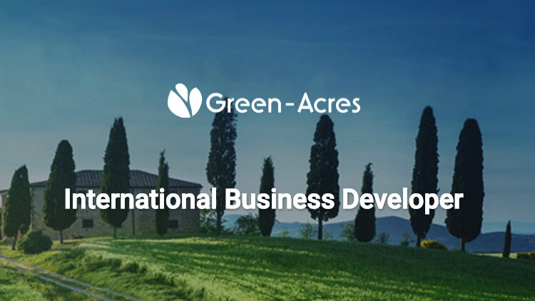 L'offre d'emploi de la semaine : International business developer - Paris - Green-Acres - D.R.