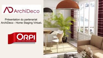 ArchiDeco, nouveau partenaire du réseau Orpi ! - D.R.