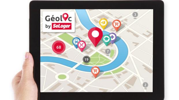 La géolocalisation arrive sur SeLoger: la révolution des pratiques est-elle en marche? - © D.R.