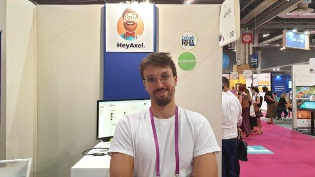 Salon Solutions RH: Arnaud Weiss, CEO de la start-up HeyAxel, présente les priorités de la rentrée. - © D.R.