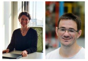 Nathalie Delanghe et Kevin Gaudineau ont été embauchés à l'ENS Paris-Saclay après un entretien en visio, ils témoignent. - © D.R.