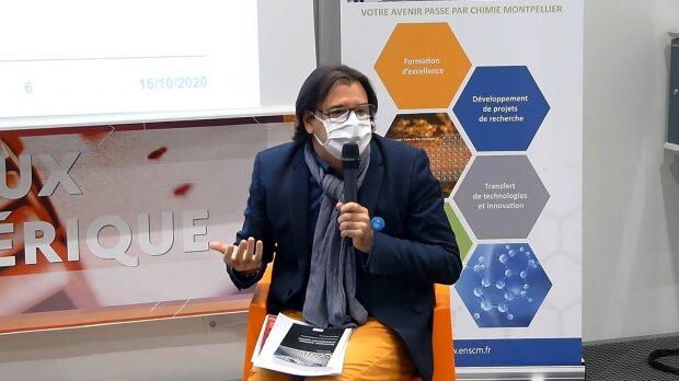 Bertrand Mocquet est intervenu dans le cadre des États généraux du numérique pour l'éducation - © D.R.