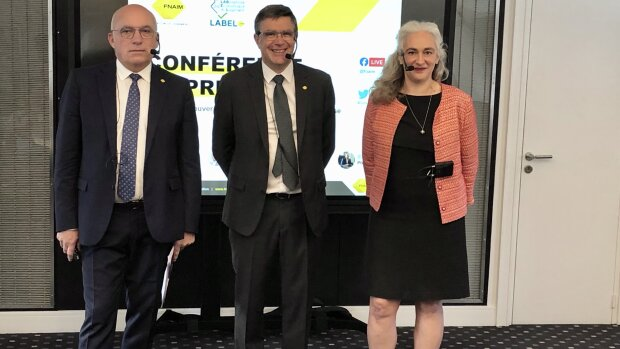 Loïc Cantin, Jean-Marc Torrollion et Marie-Laure De Sousa