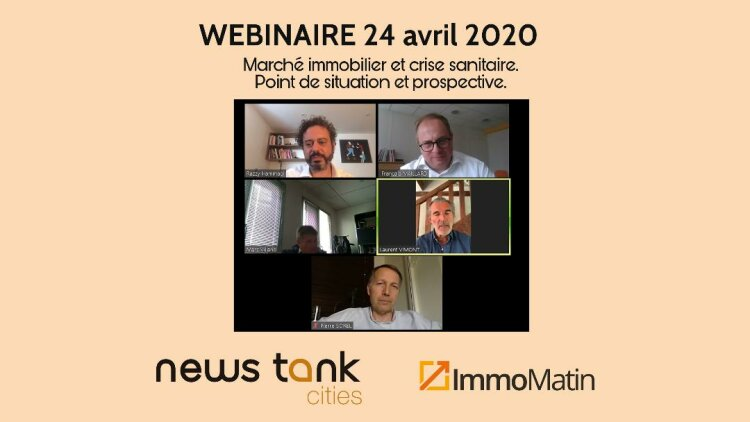 Webinaire News Tank Cities / ImmoMatin - DR