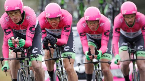 Education First s'offre une équipe de cyclisme! - D.R.
