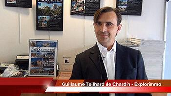 4 min 30 avec Guillaume Teilhard de Chardin, directeur d'Explorimmo - D.R.