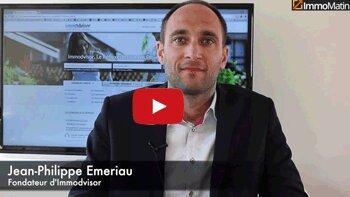 3 min avec Jean-Philippe Emeriau, fondateur d'Immodvisor - D.R.