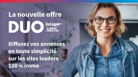SeLoger et Logic-Immo lancent l'offre DUO - D.R.