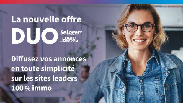SeLoger et Logic-Immo lancent l'offre DUO - © D.R.