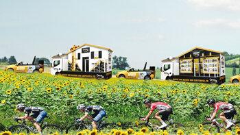 Century 21 est partenaire du Tour de France - D.R.