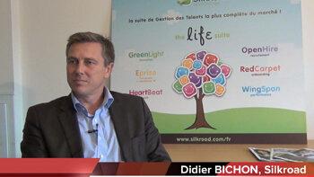 4 min 30 avec Didier Bichon, Vice Président Europe SilkRoad - D.R.
