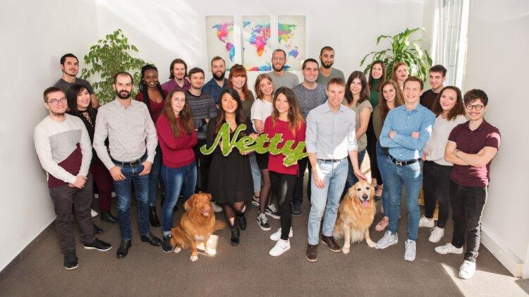 L'équipe de Netty - DR