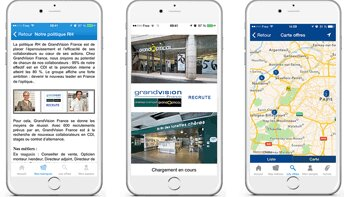 Talentsoft lance une application mobile dédiée au recrutement - © D.R.
