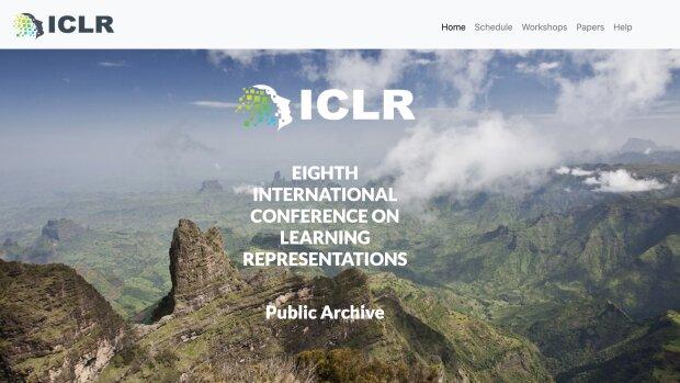 Site web ICLR - © ICLR