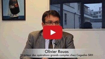 4 min 30 avec Olivier Rouas, directeur des opérations grands comptes chez Cegedim SRH - © D.R.
