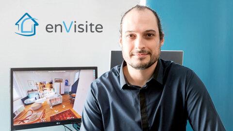 Visites virtuelles: enVisite recrute et étend son offre -