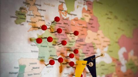 Infographie: qui sont les portails immobiliers leaders en Europe? -