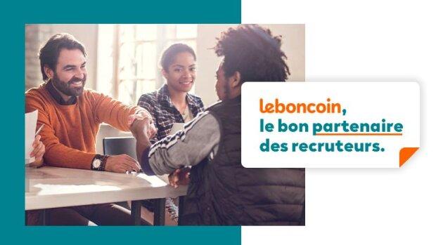 leboncoin, le bon partenaire des recruteurs - © D.R.