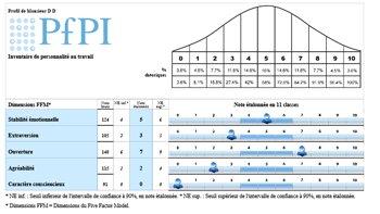 PfPi : le test qui évalue l'efficience professionnelle - D.R.