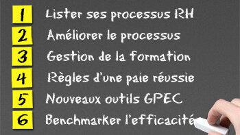 Guide pratique - Benchmarker l'efficacité de ses processus RH - D.R.