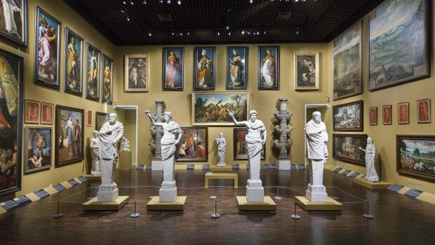 La salle des Grands Formats du Musées des Beaux Arts d'Orléans.