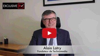 3 min avec Alain Latry, fondateur de Technomedia - D.R.
